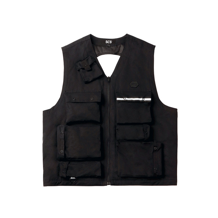 [FW18 SV] 3M Thinsulate™ Utility Vest(Black) 스테레오 바이널즈[FW18 SV] 3M Thinsulate™ Utility Vest(Black)