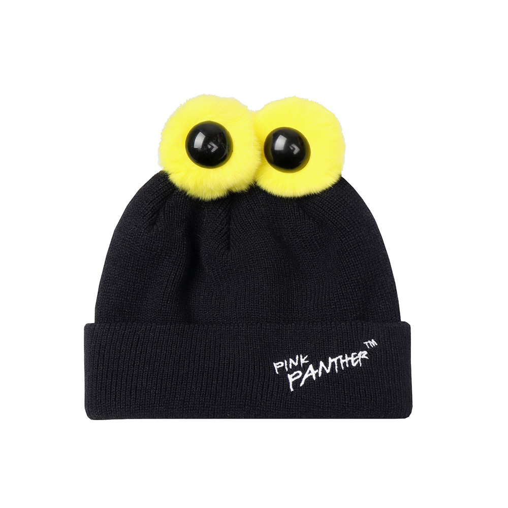 [FW19 Pink Panther] PP Eyes Beanie(Black) 스테레오 바이널즈[FW19 Pink Panther] PP Eyes Beanie(Black)