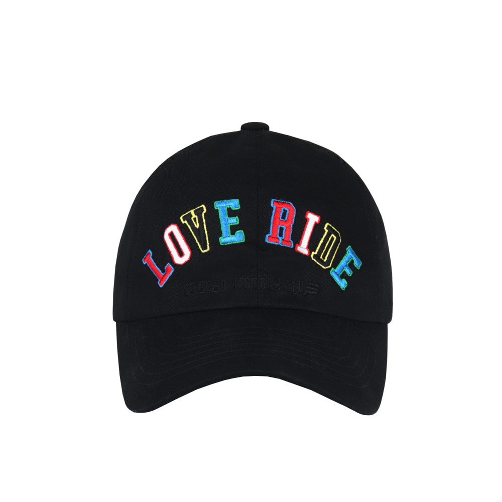 스테레오 바이널즈 - [SS20 SV X BPS] LOVE RIDE Cap(Black)