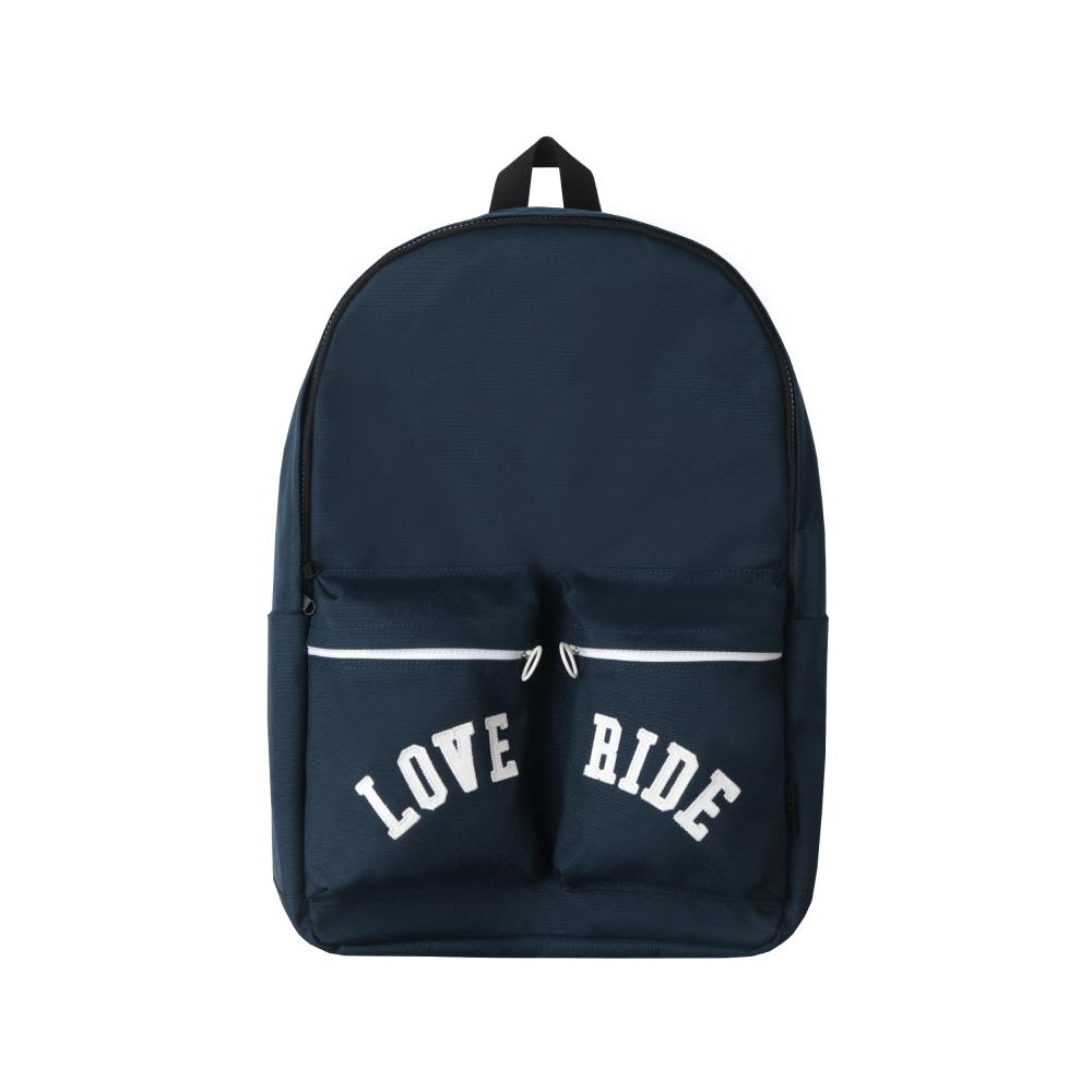 스테레오 바이널즈 - [SS20 SV X BPS] LOVE RIDE Backpack(Navy)