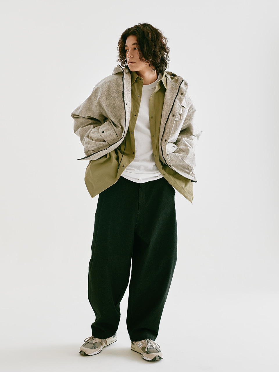 [FW20 Sounds Life] Balloon Snap Pants(Black) 스테레오 바이널즈[FW20 Sounds Life] Balloon Snap Pants(Black)