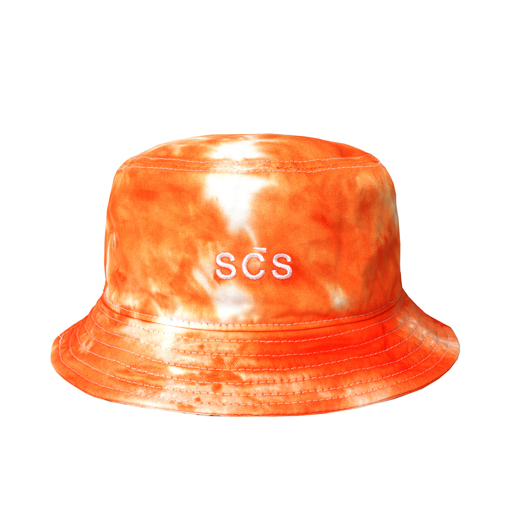 스테레오 바이널즈 - [AW19 SCS] Tie-dye Bucket Hat(Orange)