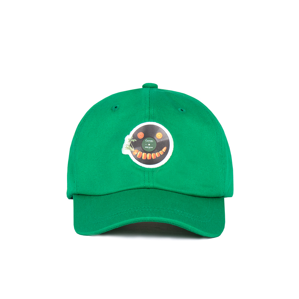 스테레오 바이널즈 - [SS20 SV X Carrots] Carrots Ball Cap for Kids(Green)