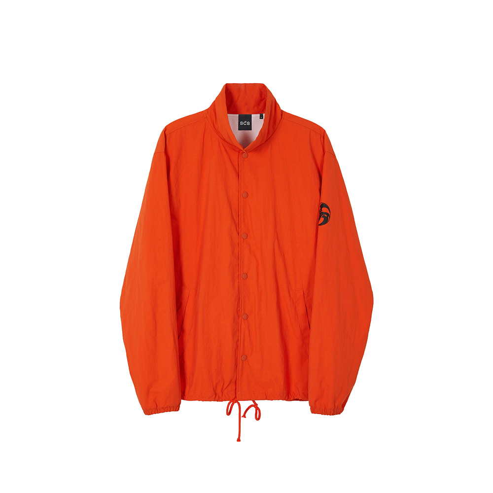 스테레오 바이널즈 - [AW20 SCS] Coach Jacket(Orange)