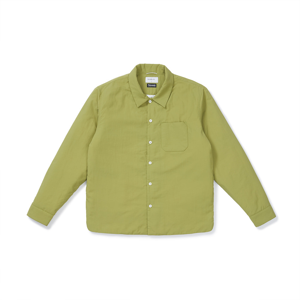 [FW20] Supplex Padded Shirt(Green) 스테레오 바이널즈[FW20] Supplex Padded Shirt(Green)