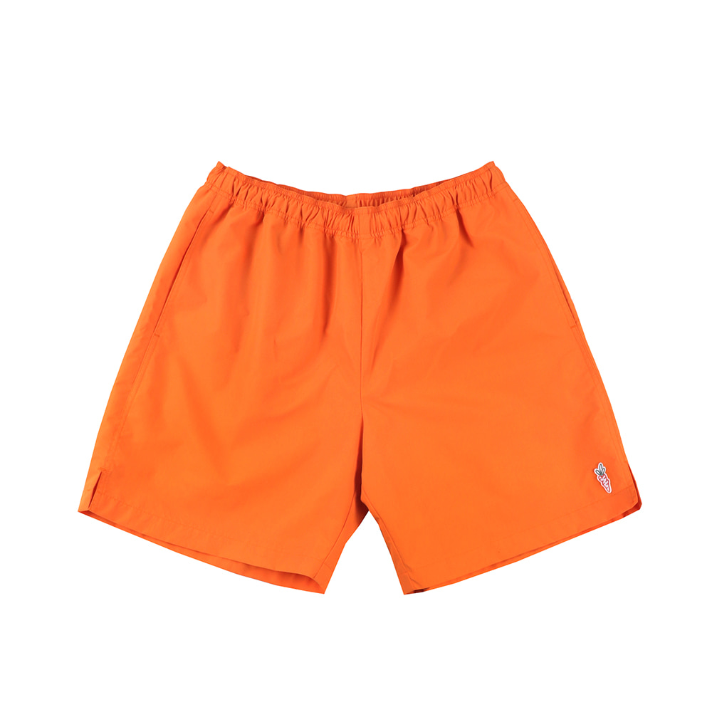 스테레오 바이널즈 - [SS20 SV X Carrots] Carrots Logo Short Pants(Orange)