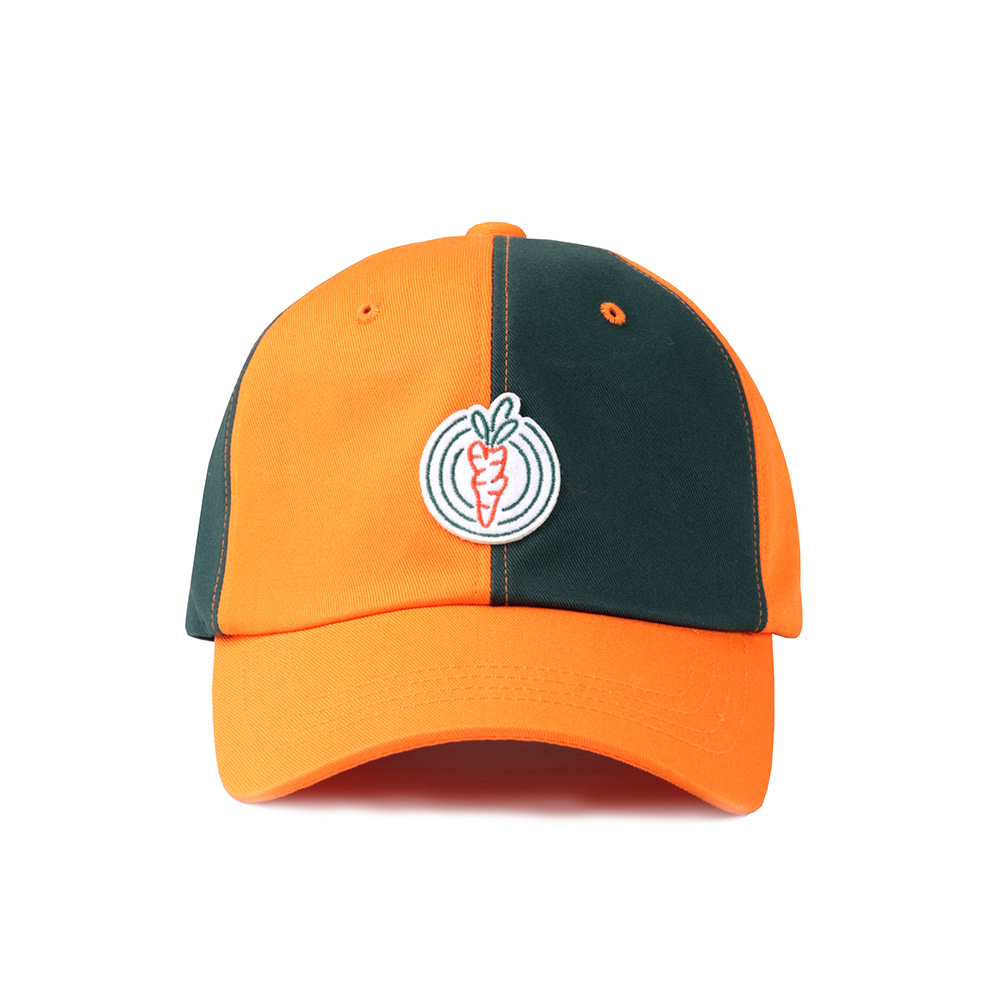 스테레오 바이널즈 - [SS20 SV X Carrots] Half Ball Cap(Orange)