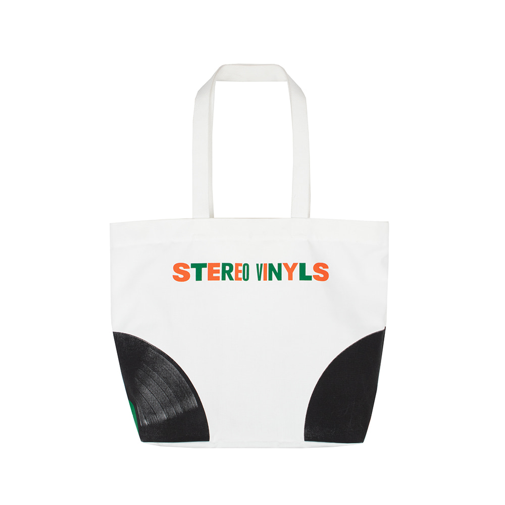 스테레오 바이널즈 - [SS20 SV X Carrots] Carrots Shoulder Bag(White)